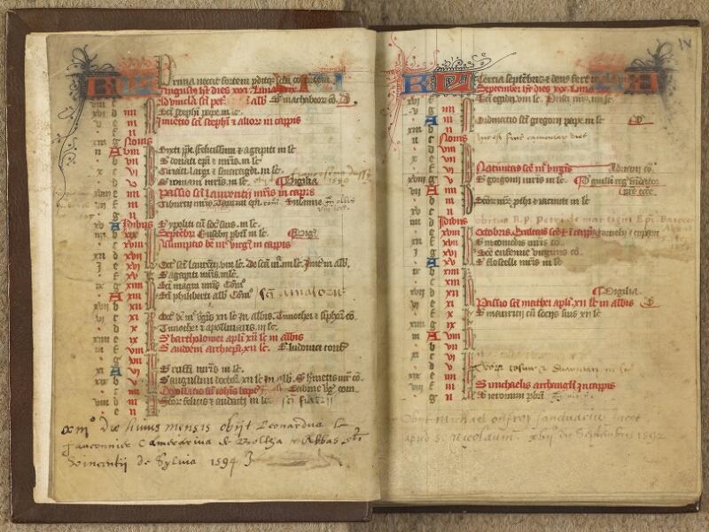 Caen, Bibl. mun., ms. 0020, A f. 003v-004