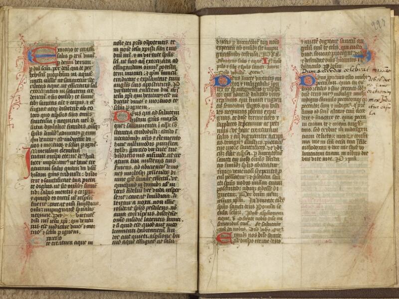 Caen, Bibl. mun., ms. 0020, B f. 222v-223