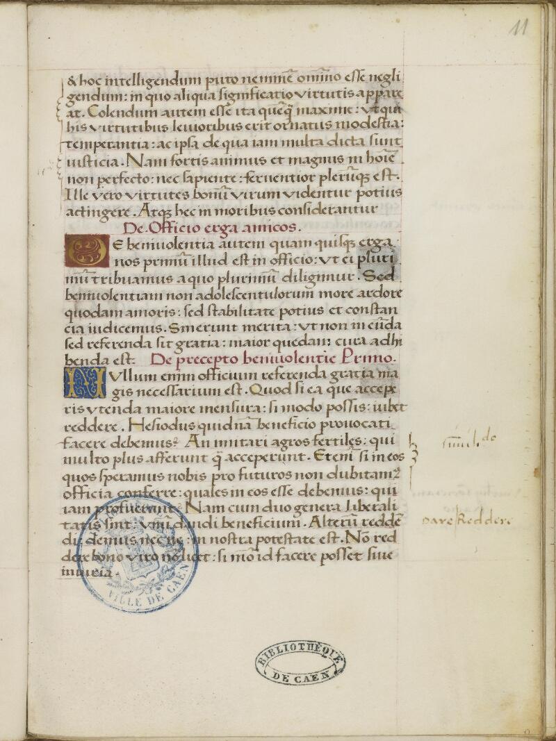 Caen, Bibl. mun., ms. 0181, f. 011