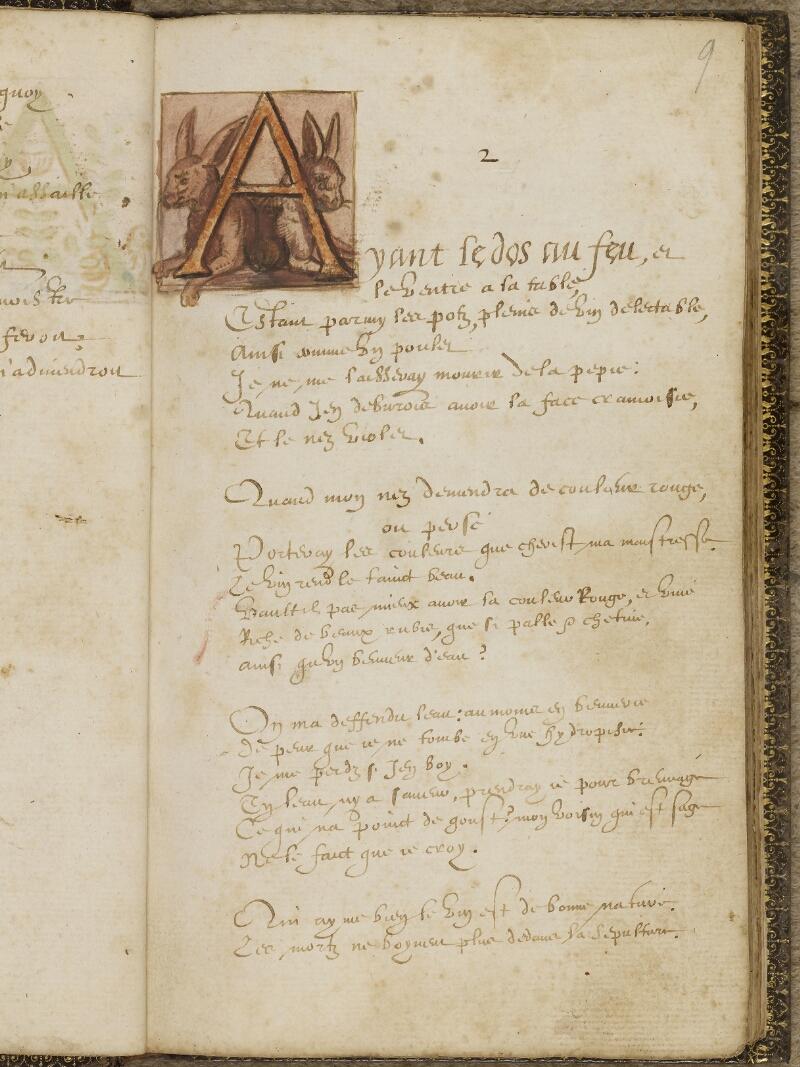 Caen, Bibl. mun., ms. 0207, f. 009