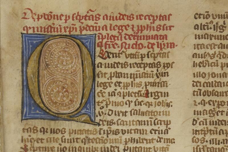 Caen, Bibl. mun., ms. 0003, f. 001 - vue 3