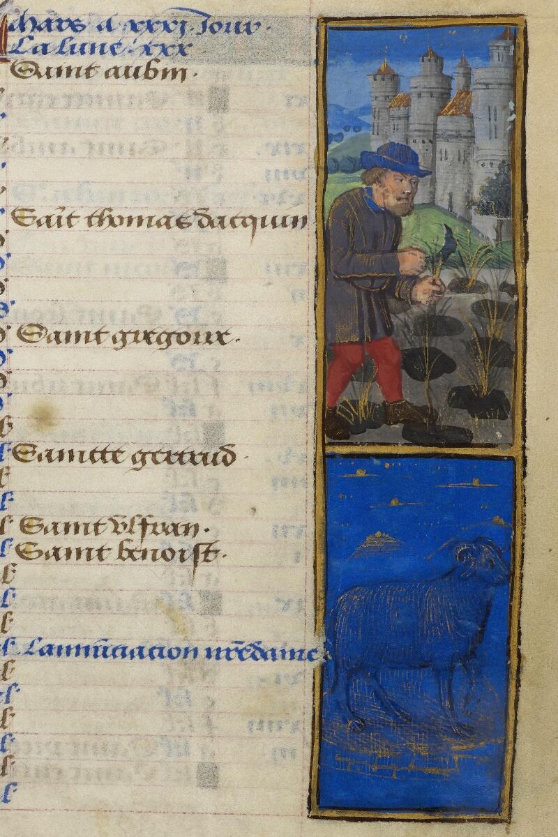 Caen, Bibl. mun., ms. 0012, f. 002 - vue 2