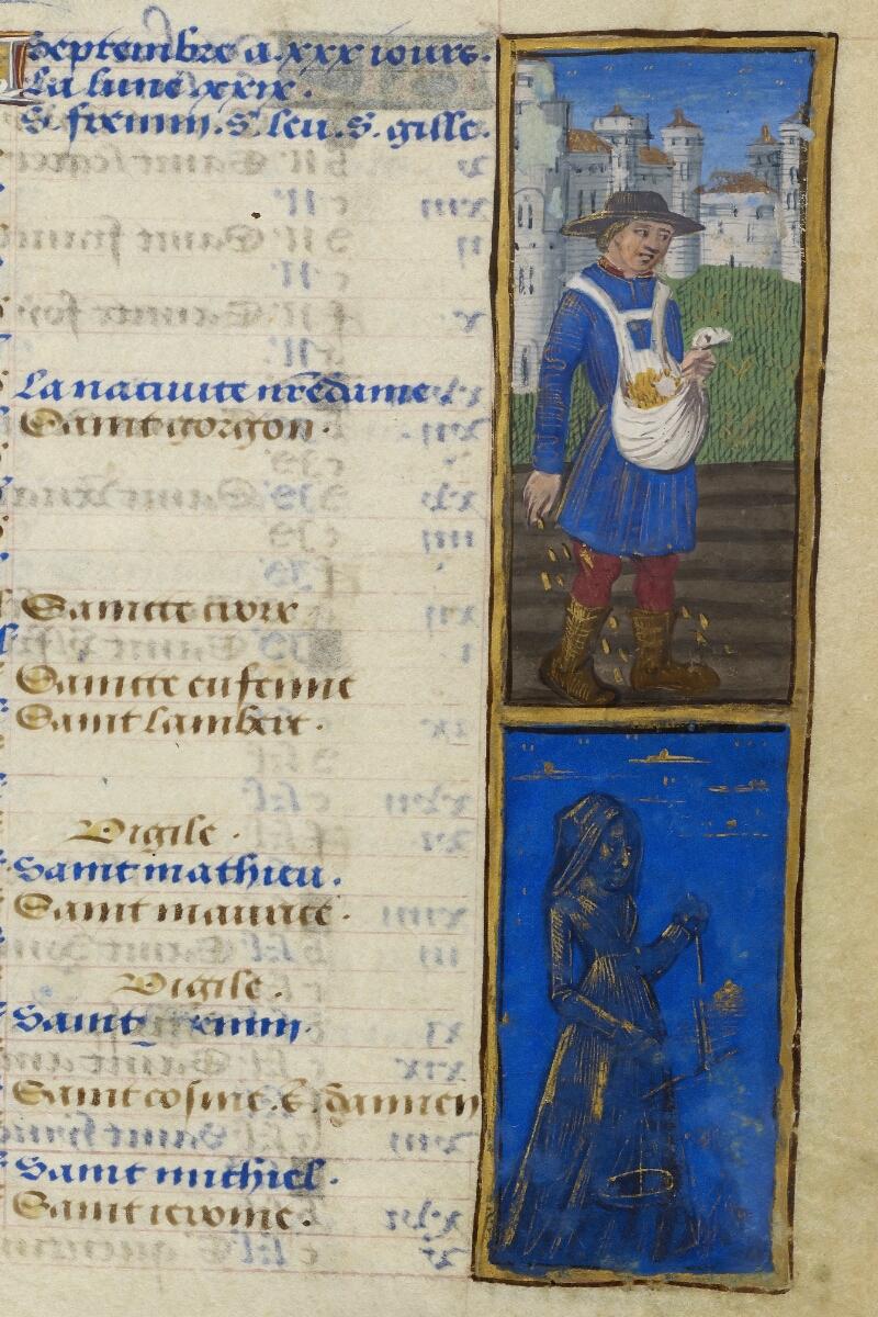 Caen, Bibl. mun., ms. 0012, f. 005 - vue 2