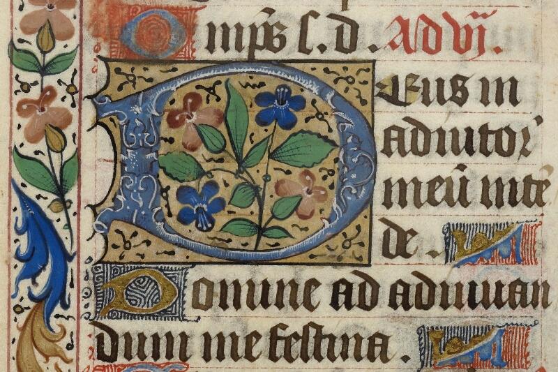 Caen, Bibl. mun., ms. 0013, f. 061v - vue 2