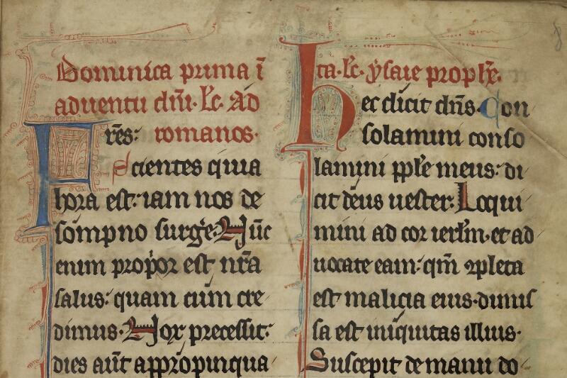 Caen, Bibl. mun., ms. 0015, f. 008 - vue 3