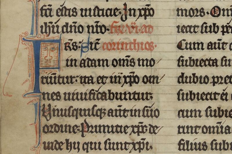 Caen, Bibl. mun., ms. 0015, f. 087v - vue 2