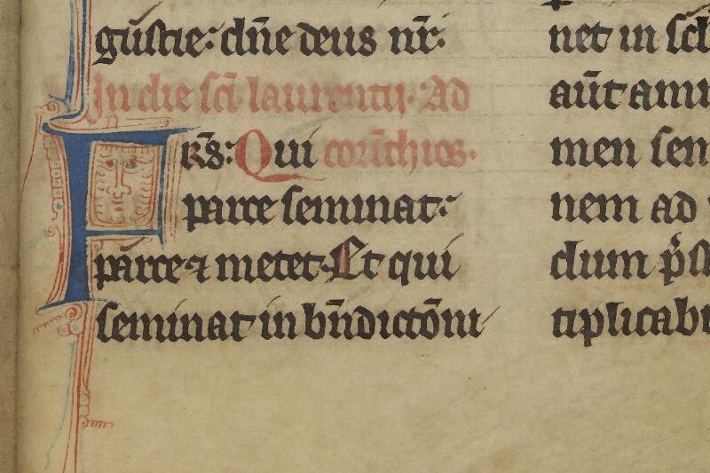 Caen, Bibl. mun., ms. 0015, f. 135 - vue 2