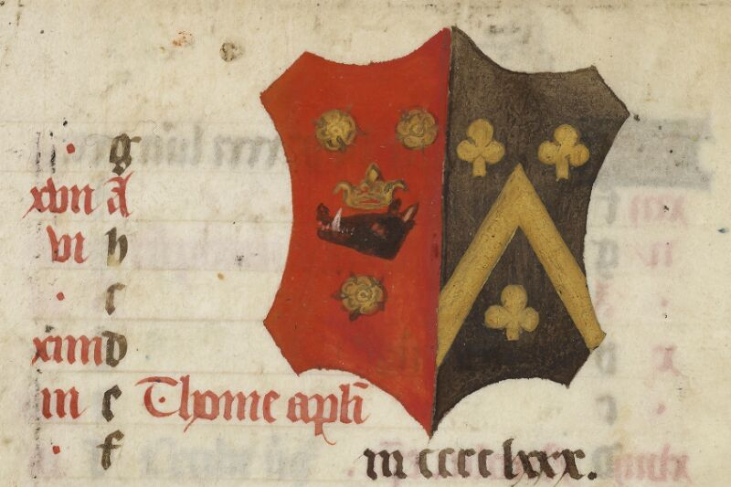Caen, Bibl. mun., ms. 0017, f. 012v - vue 2