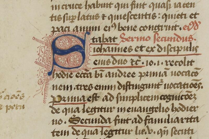Caen, Bibl. mun., ms. 0038, f. 002v - vue 2