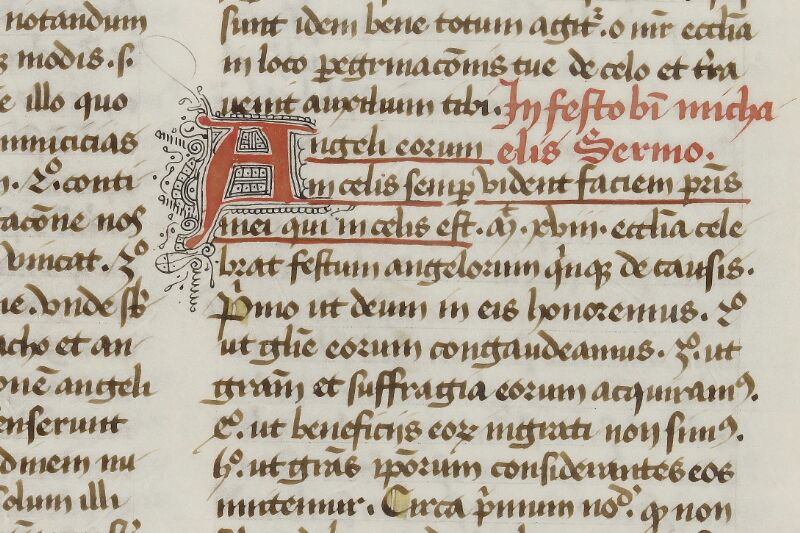 Caen, Bibl. mun., ms. 0038, f. 201 - vue 2