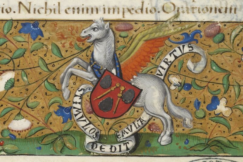 Caen, Bibl. mun., ms. 0181, f. 001- vue 3