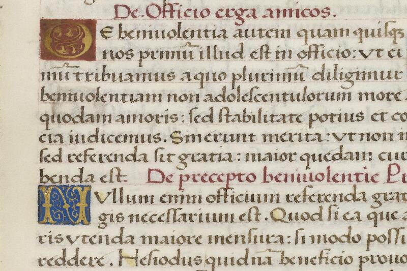 Caen, Bibl. mun., ms. 0181, f. 011 - vue 2