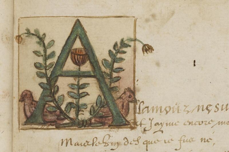 Caen, Bibl. mun., ms. 0207, f. 008 - vue 3