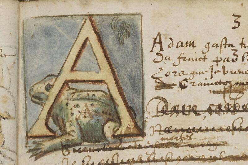 Caen, Bibl. mun., ms. 0207, f. 010 - vue 2