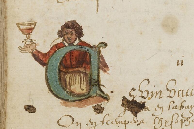 Caen, Bibl. mun., ms. 0207, f. 015v - vue 2