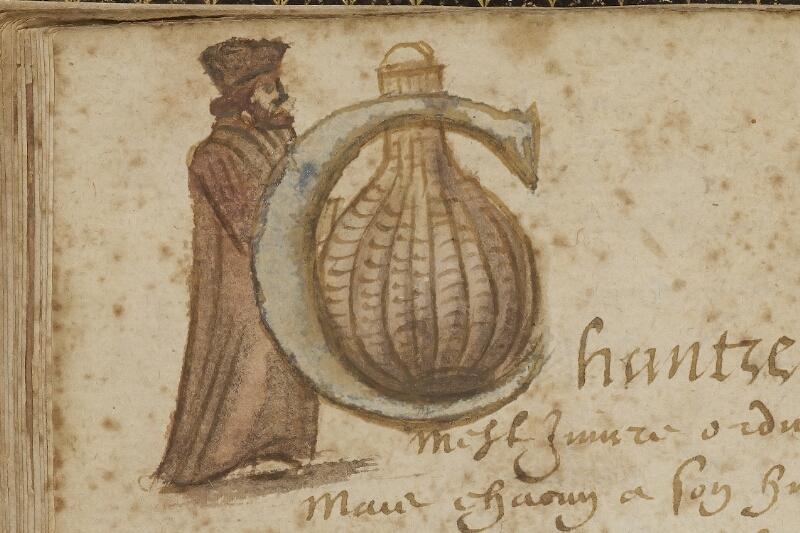 Caen, Bibl. mun., ms. 0207, f. 016v - vue 2