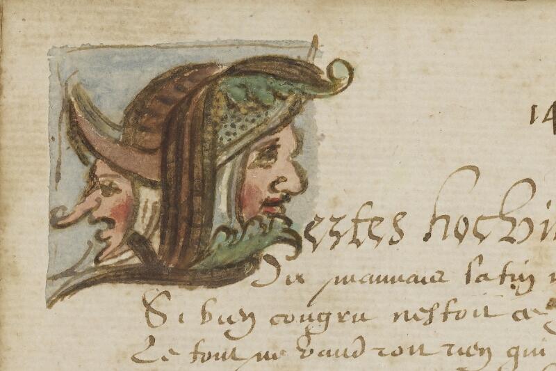 Caen, Bibl. mun., ms. 0207, f. 017v - vue 2