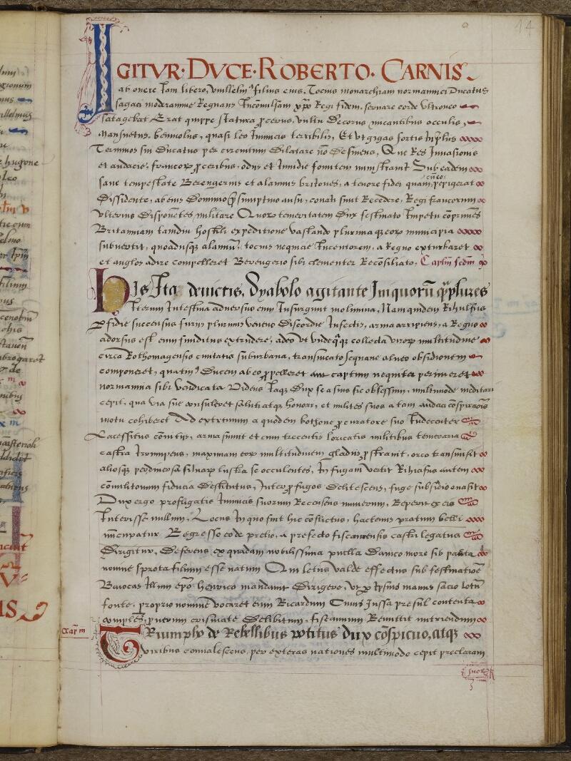 Caen, Musée, Coll. Mancel ms. 0145, f. 014
