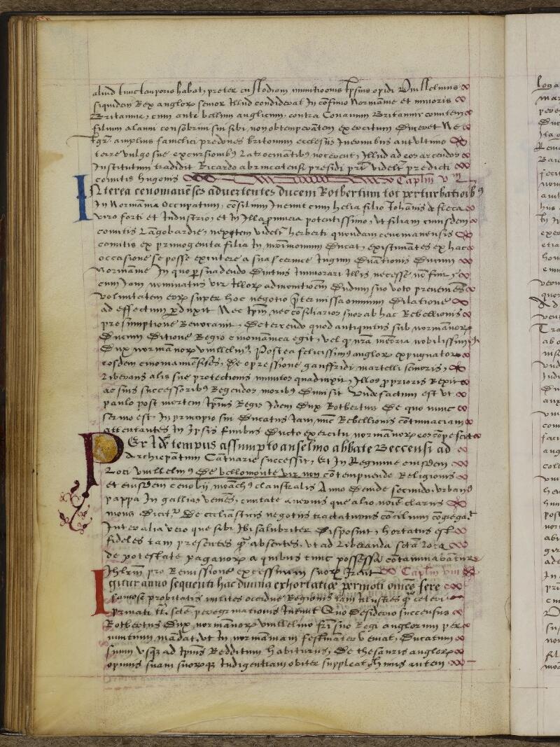 Caen, Musée, Coll. Mancel ms. 0145, f. 045v