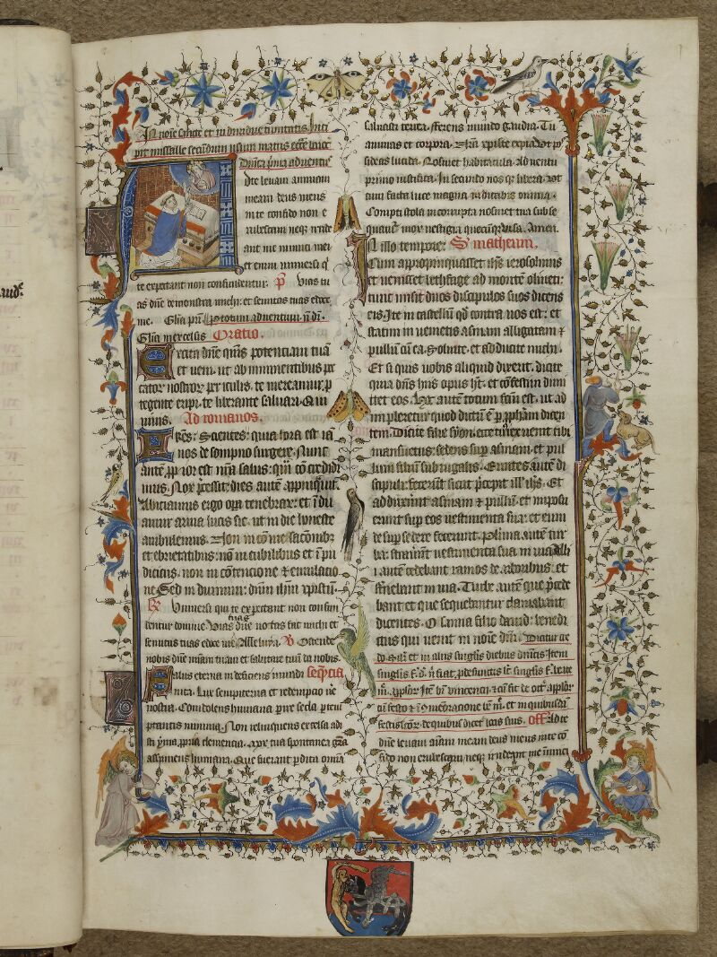 Caen, Musée, Coll. Mancel ms. 0237, f. 001