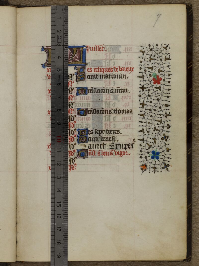 Caen, Musée, Coll. Mancel ms. 0239, f. 007 - vue 1