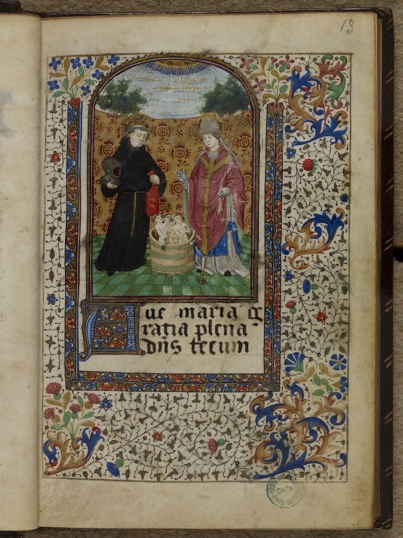 Caen, Musée, Coll. Mancel ms. 0239, f. 013