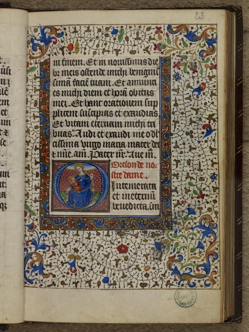 Caen, Musée, Coll. Mancel ms. 0239, f. 023