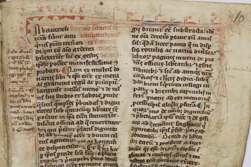 Caen, Musée, Coll. Mancel ms. 0086, f. 010 - vue 3