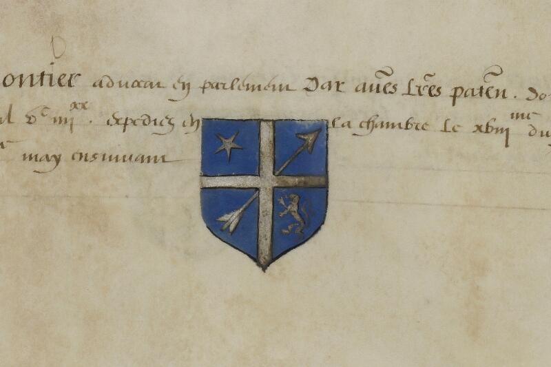 Caen, Musée, Coll. Mancel ms. 0156, f. 041 - vue 2