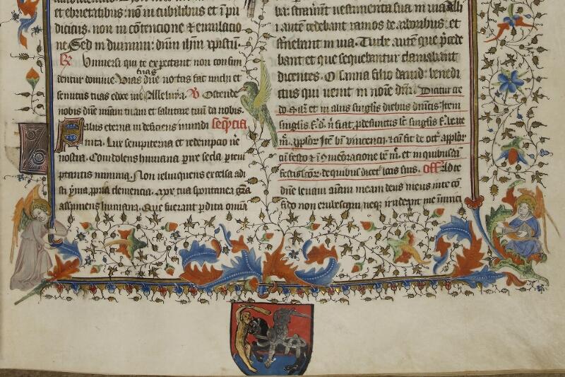 Caen, Musée, Coll. Mancel ms. 0237, f. 001 - vue 4