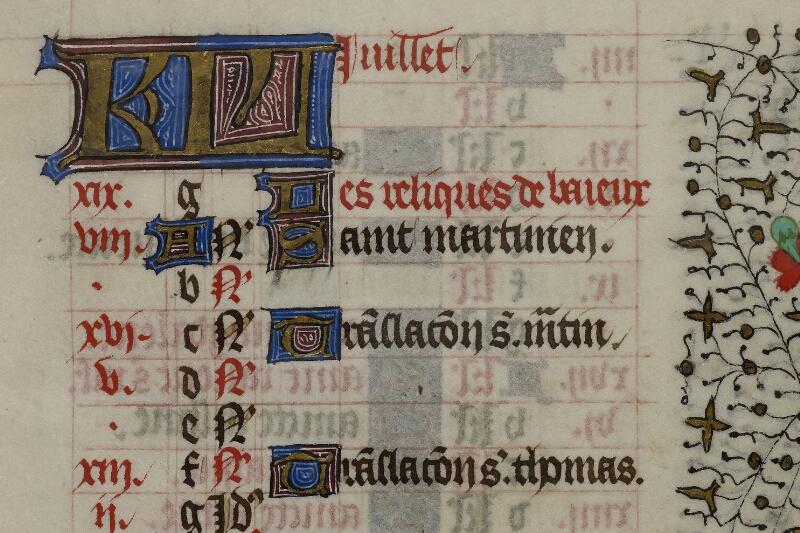 Caen, Musée, Coll. Mancel ms. 0239, f. 007 - vue 3