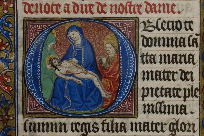 Caen, Musée, Coll. Mancel ms. 0239, f. 019v - vue 2