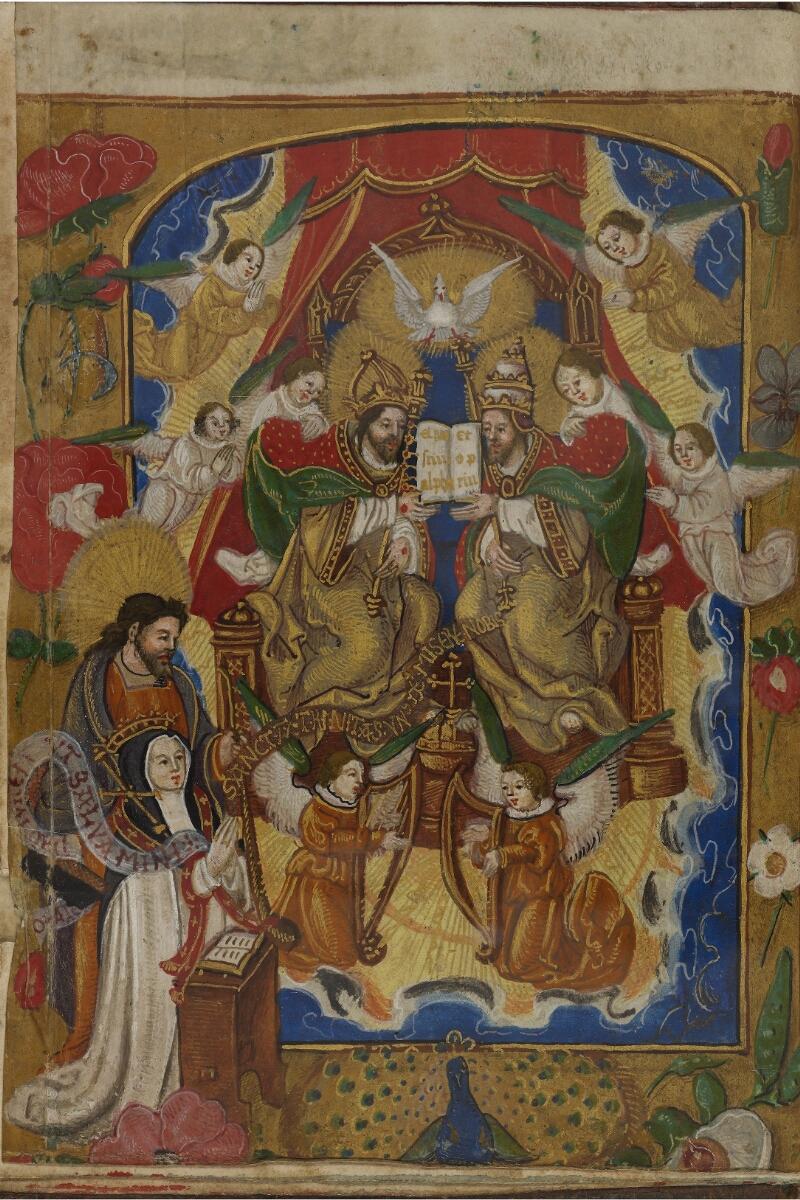Caen, Musée, Coll. Mancel ms. 0242, f. 000Av - vue 2
