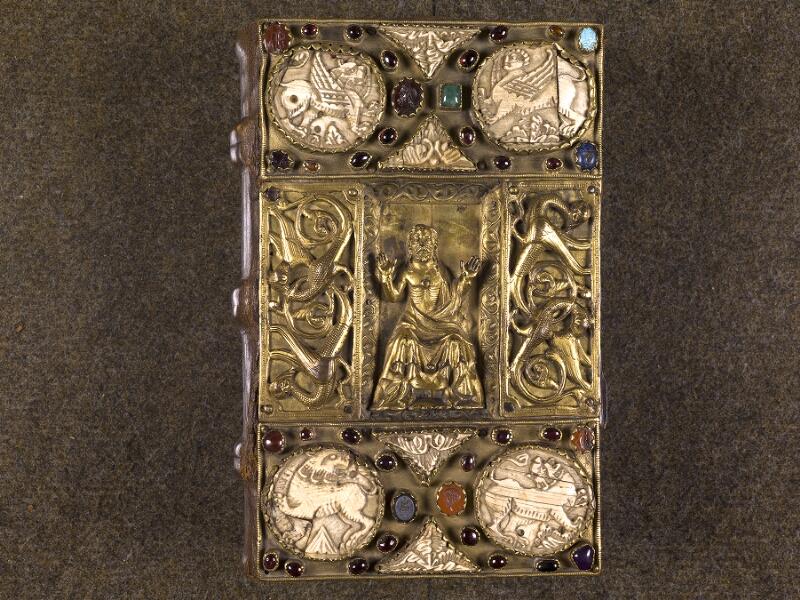CHANTILLY, Bibliothèque du château, 0007 (1345), plat supérieur