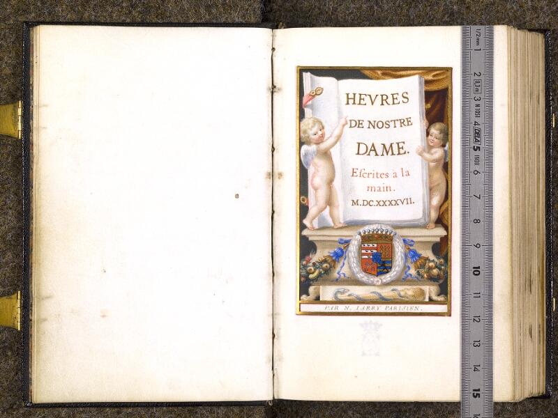 CHANTILLY, Bibliothèque du château, 0088 (1123), p. 000C - 000D avec réglet