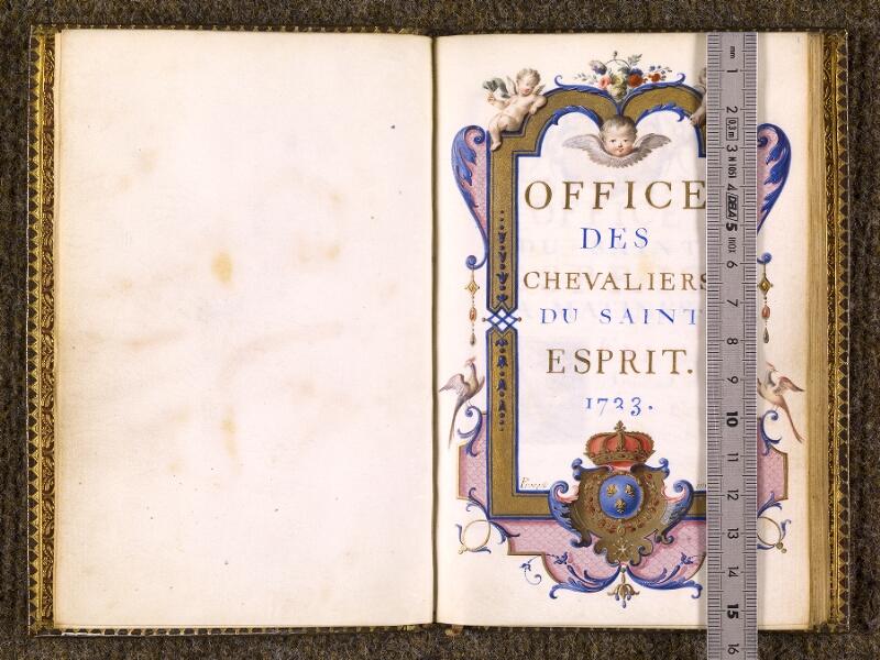 CHANTILLY, Bibliothèque du château, 0098 (1538), f. 000Av - 001 avec réglet