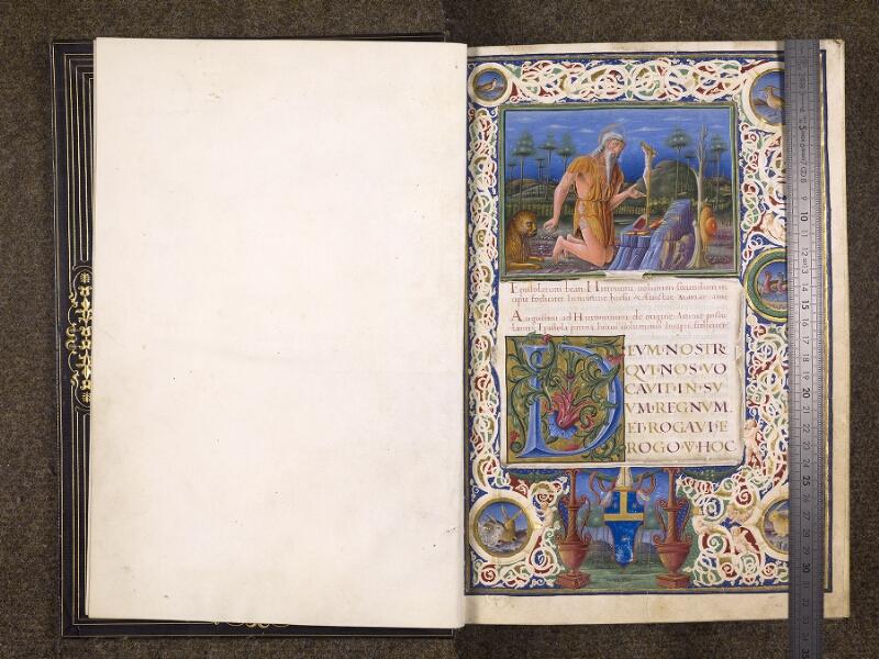 CHANTILLY, Bibliothèque du château, 0119 (1329), f. 000Av - 001 avec réglet