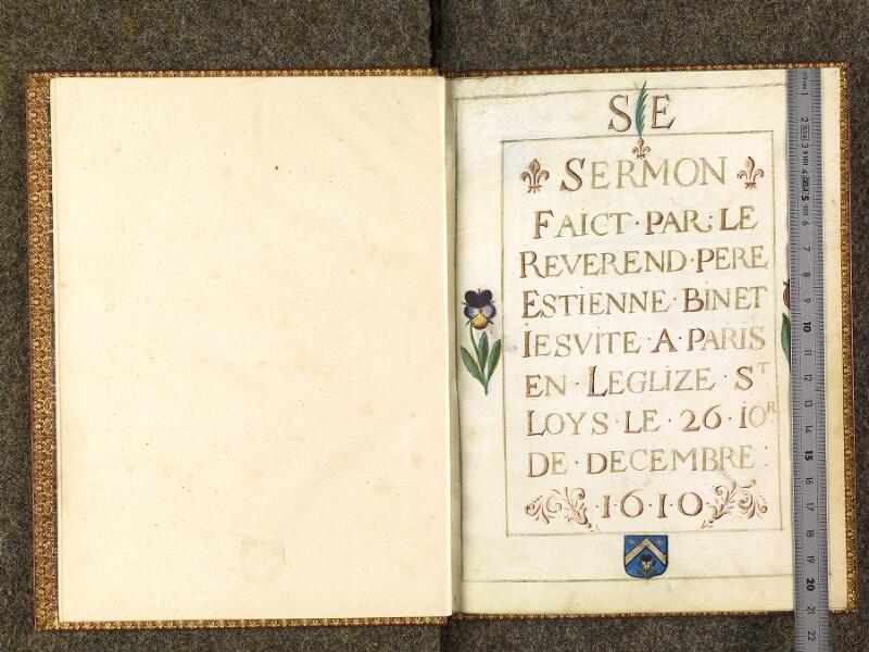 CHANTILLY, Bibliothèque du château, 0535 (1495), garde verso - 001 avec réglet