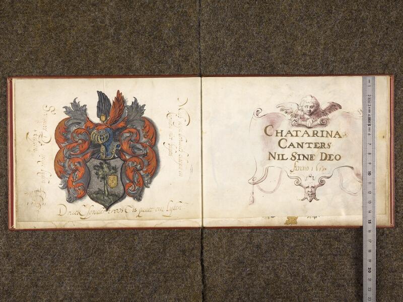 CHANTILLY, Bibliothèque du château, 0536 (1462), f. 000Cv - 001 avec réglet