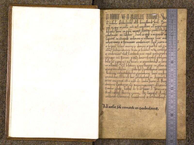 CHANTILLY, Bibliothèque du château, 0740 (1043), f. 000Bv - 001 avec réglet