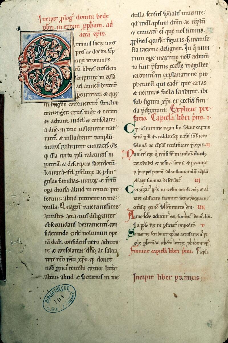 Charleville-Mézières, Bibl. mun., ms. 0163, f. 001v