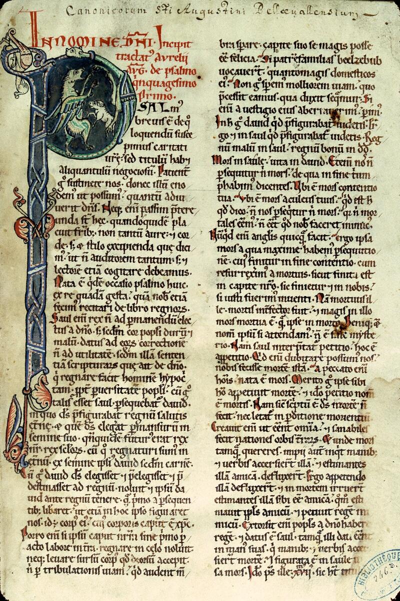 Charleville-Mézières, Bibl. mun., ms. 0246 D, t. II, f. 001 - vue 1