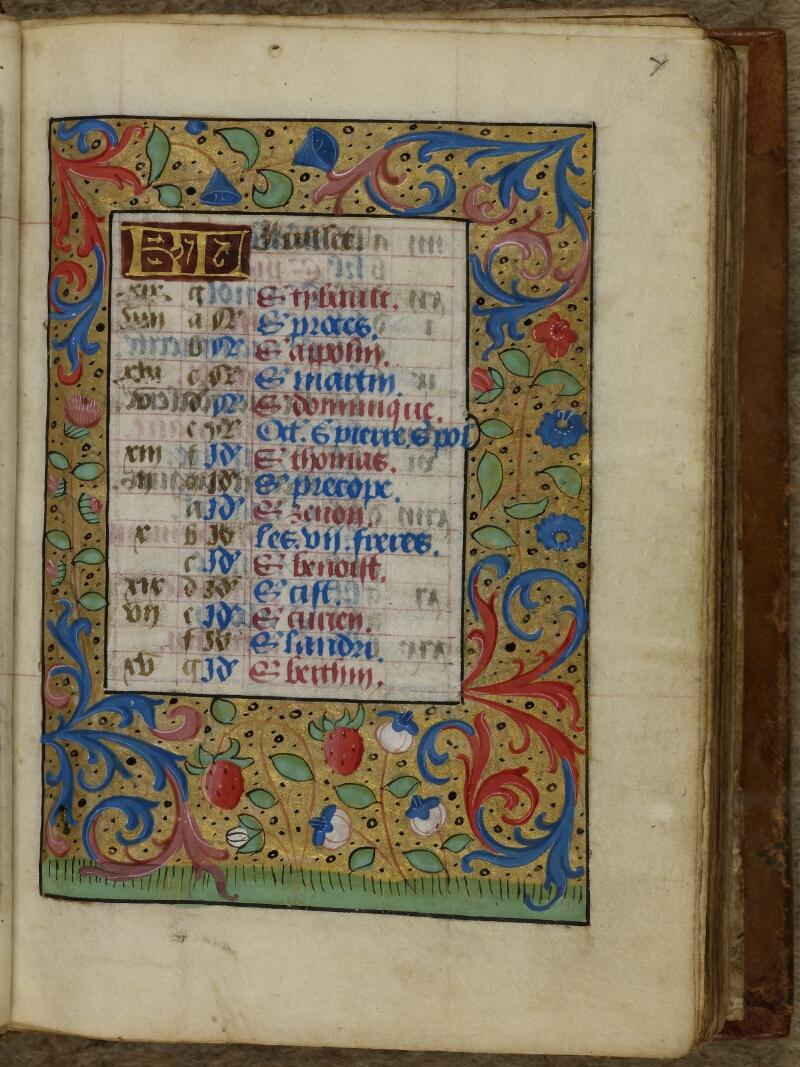 Cherbourg, Bibl. mun., ms. 0007, f. 010 - vue 2