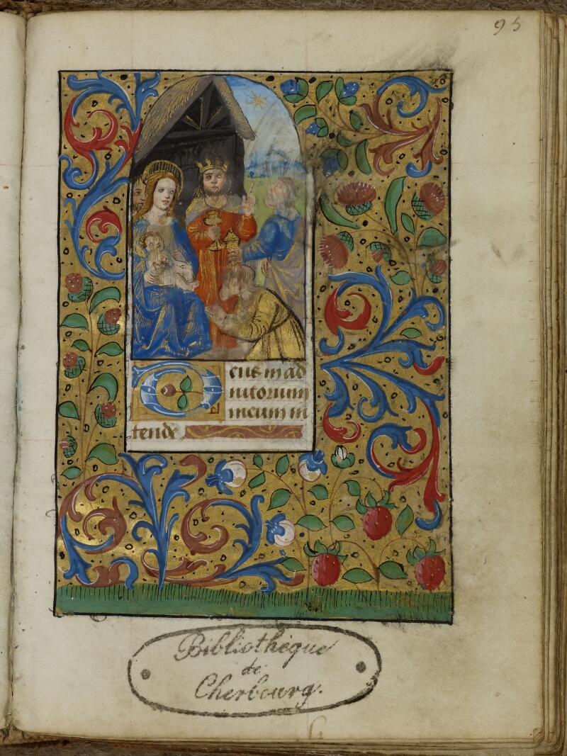 Cherbourg, Bibl. mun., ms. 0007, f. 095