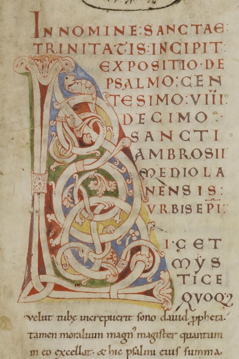 Cherbourg, Bibl. mun., ms. 0002, f. 001 - vue 3