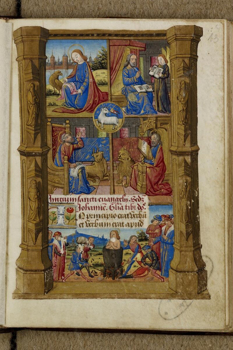 Cherbourg, Bibl. mun., ms. 0005, f. 013 - vue 1