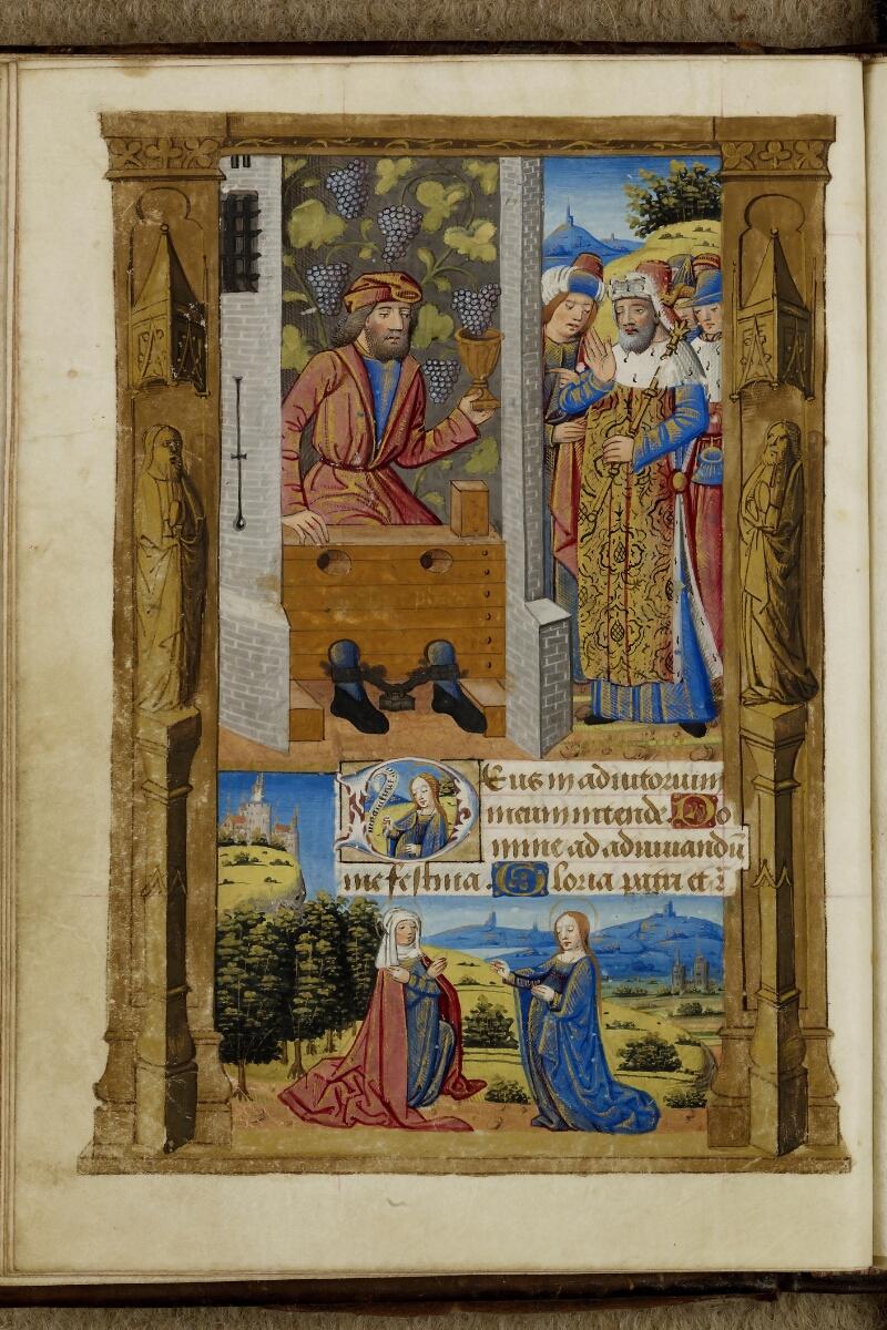 Cherbourg, Bibl. mun., ms. 0005, f. 032v - vue 1
