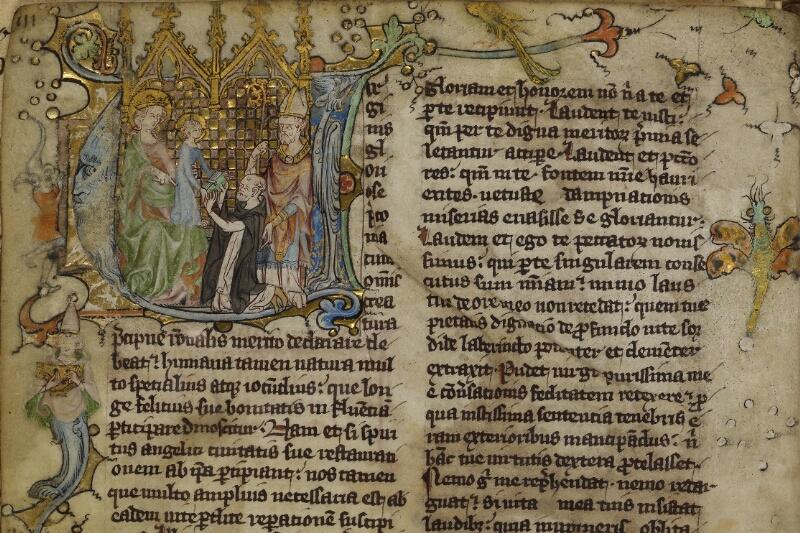 Cherbourg, Bibl. mun., ms. 0014, f. 003v - vue 2