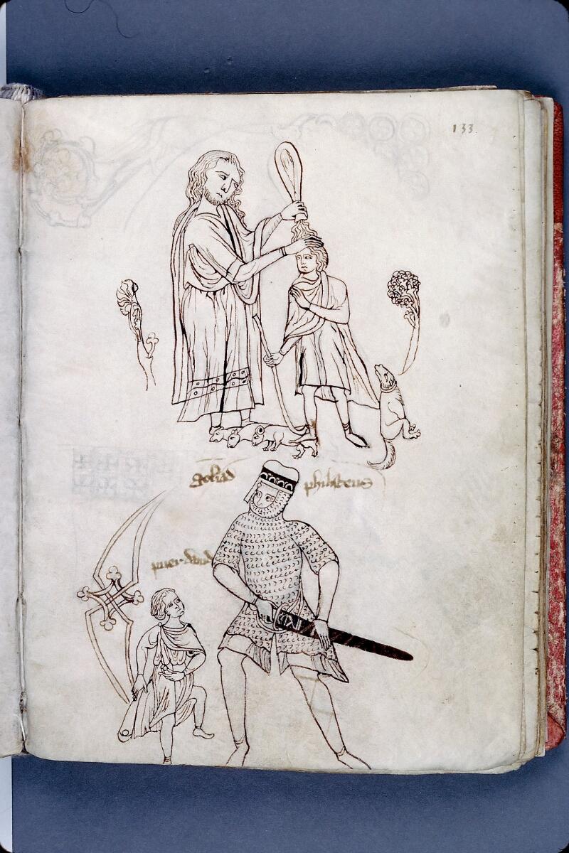 Evreux, Bibl. mun., ms. lat. 004, f. 133 - vue 1