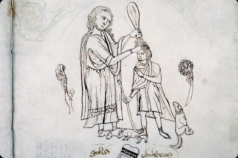 Evreux, Bibl. mun., ms. lat. 004, f. 133 - vue 2